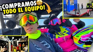 COMPRANDO TODO EL EQUIPO CON MI NOVIA *Y nuevo remolque* | ManuelRivera11