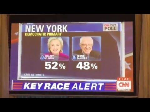 CNN Exit Poll Results for 2016 New York Democratic Primary Election
