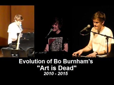 """Evolution of Bo Burnham's """"Art is Dead"""" [2010 - 2015]"""