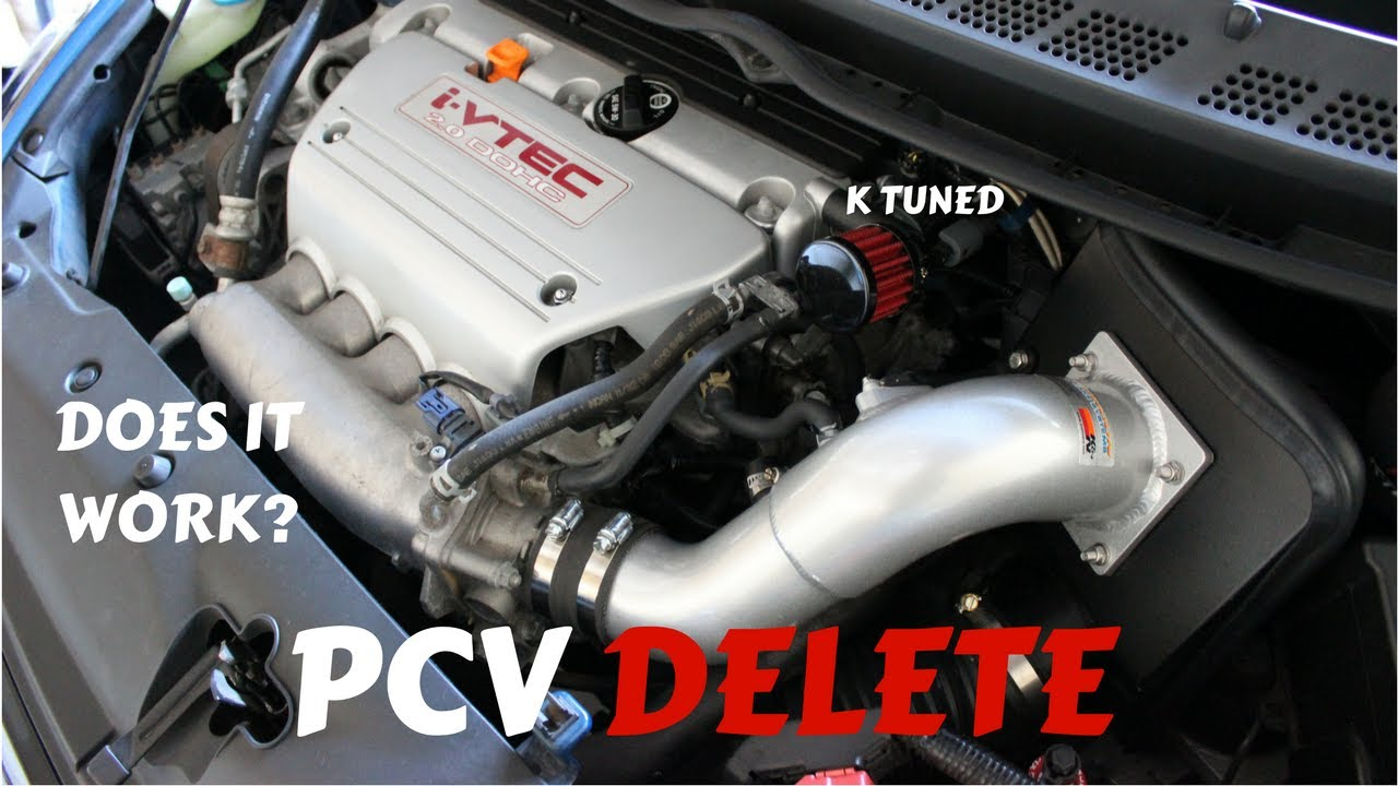 hight resolution of valve cover breather pcv delete review