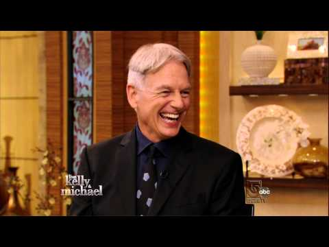 Mark on Live with Kelly and Micheal