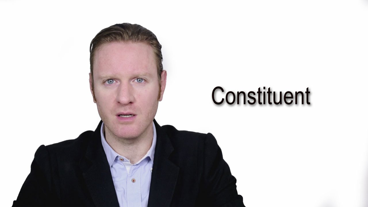 Constituent - Meaning  Pronunciation  Word Wor(l)d - Audio Video  Dictionary