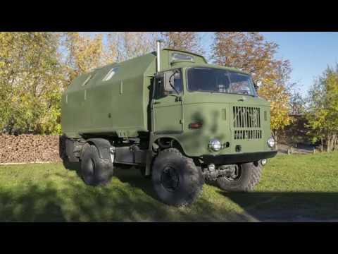 IFA W50 4x4 offroad camper
