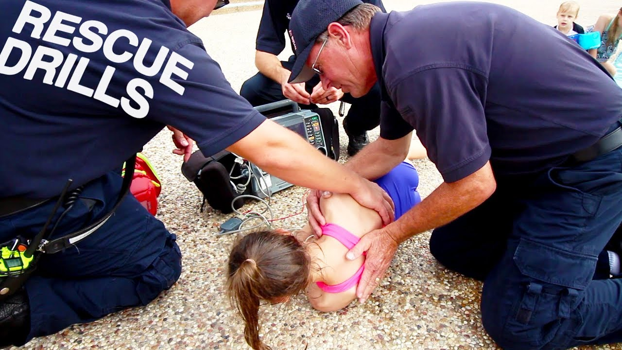 Download EMERGENCY POOL DROWNING RESCUE TRAINING - CPR AND WATER SAFETY DRILLS