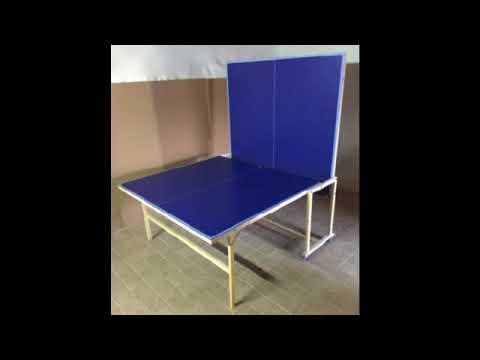 come costruire un tavolo da ping pong pieghevole fai da te