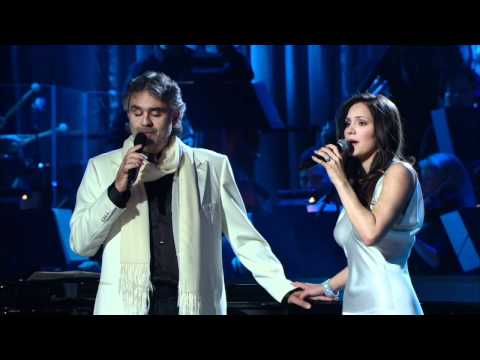 Andrea Bocelli and Katharine Mcphee  The prayer Live 2008 HD