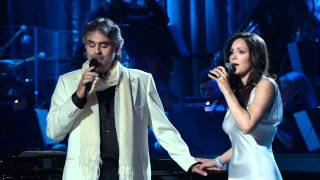 Andrea Bocelli and Katharine Mcphee The prayer Live 2008