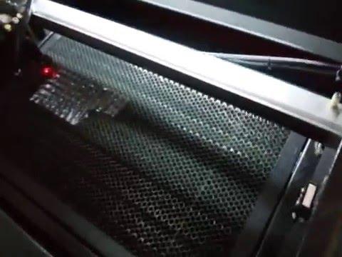 Резка пеноматериала и пластиковой пленки на лазерном станке с ЧПУ