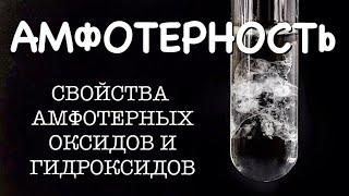 АМФОТЕРНОСТЬ | Амфотерные оксиды и гидроксиды: свойства | Химические явления и реакции | Химия