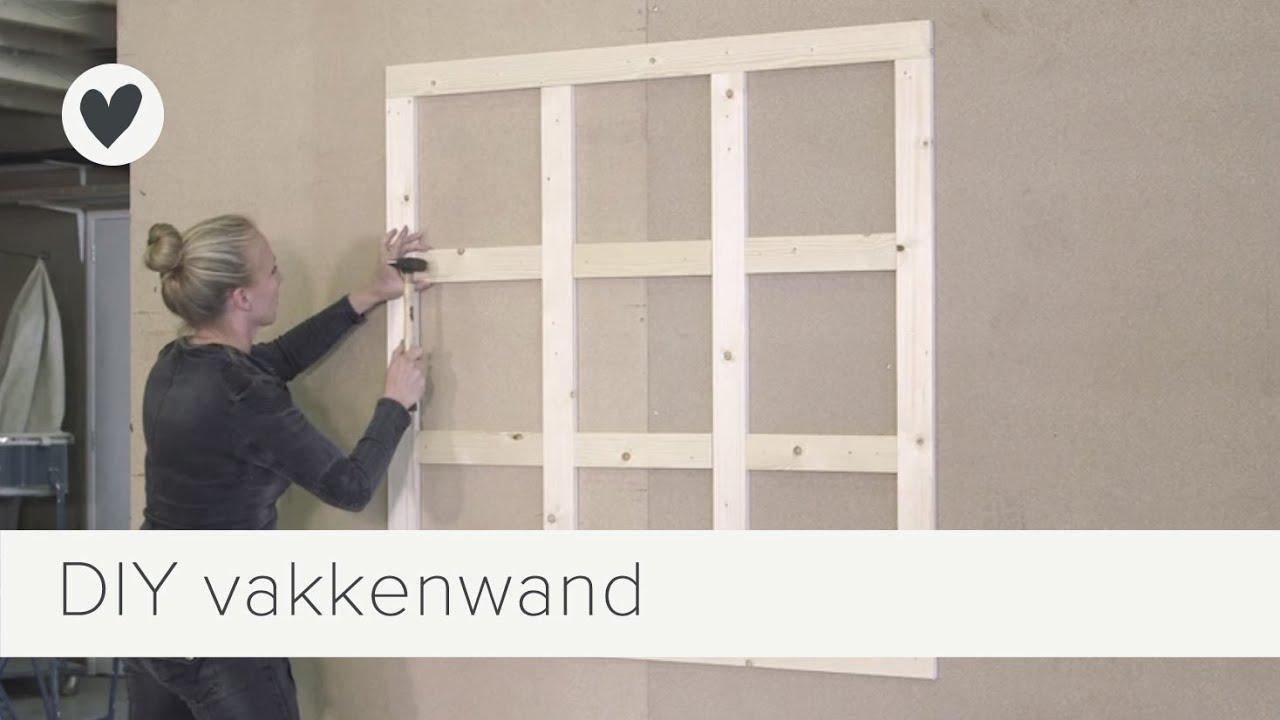 Vide Slaapkamer Maken : vakkenwand maken vtwonen doe-het-zelf ...