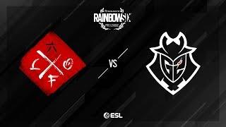 Looking For Org vs. G2 Esports – Kafe – Rainbow Six Pro League – Season X – EU
