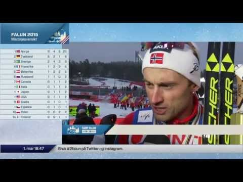 Falun 2015: Interview with Petter Northug after 50 km classic