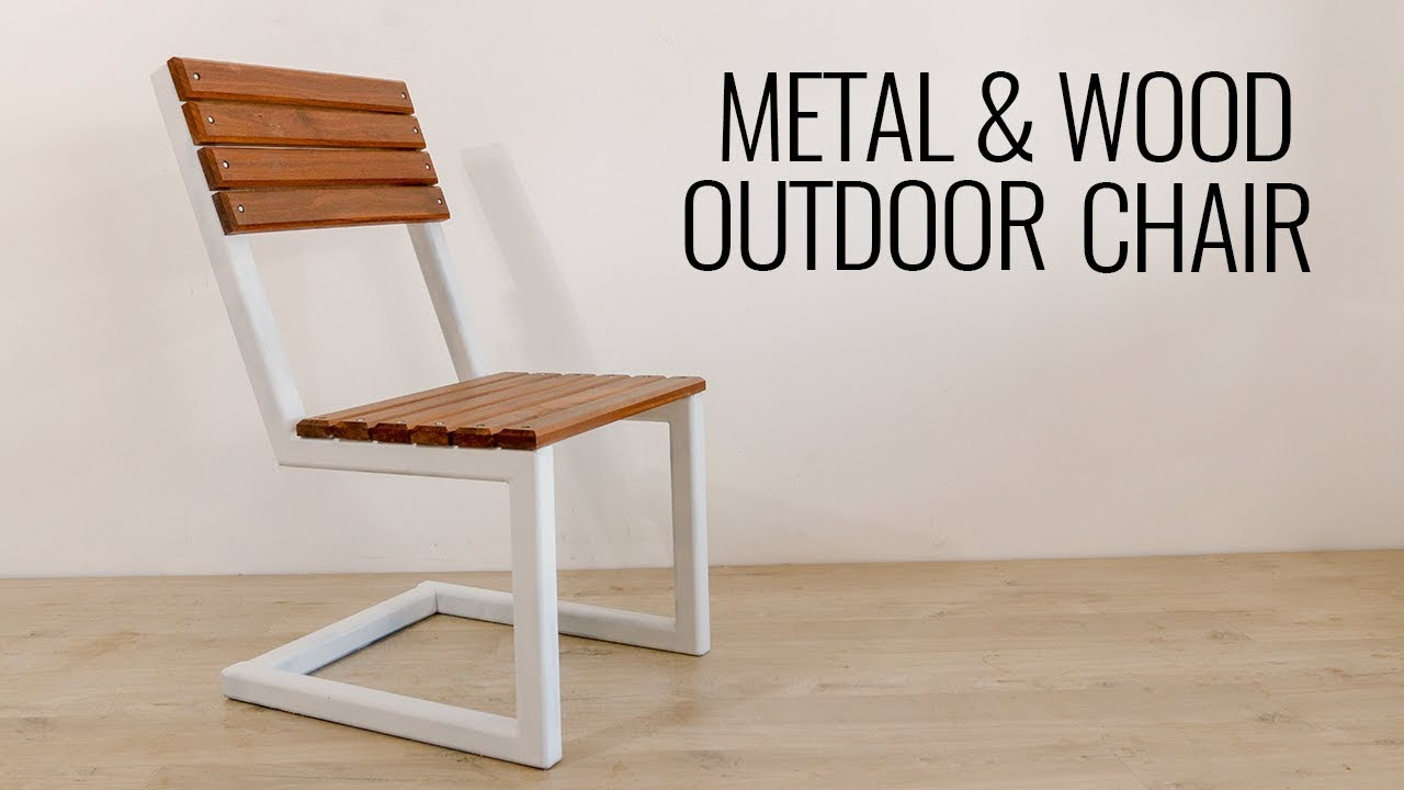 DIY Modern Outdoor Chair Build