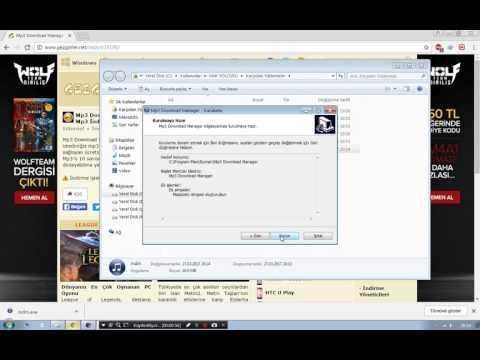 Mp3 Download Manager - Indirme Ve Kullanma Videosu