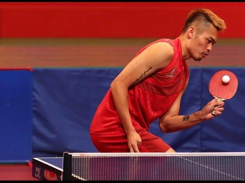 Lin Dan 林丹 plays table tennis | HongKong show