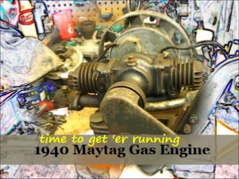 1940 Maytag Gas Engine model 72 / rebuilt and running