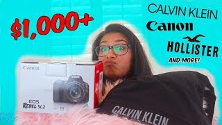 HUGE 15th BIRTHDAY HAUL 2018! *spoiled, i know*