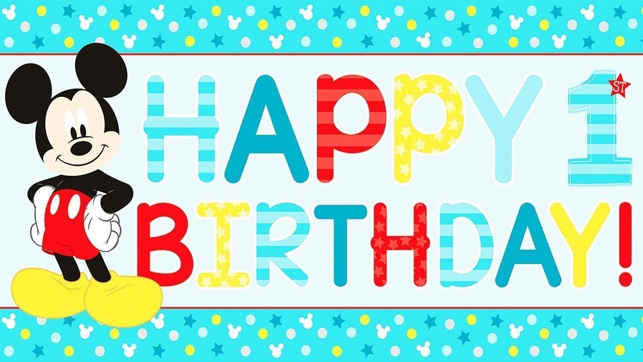 best 1st birthday wishes