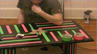 Cardboard Duct Tape Coffee Table
