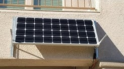 Solar powered battery backup for pond