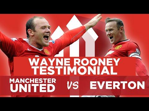 Wayne Rooney Testimonial LIVE WATCHALONG STREAM! Man United vs Everton
