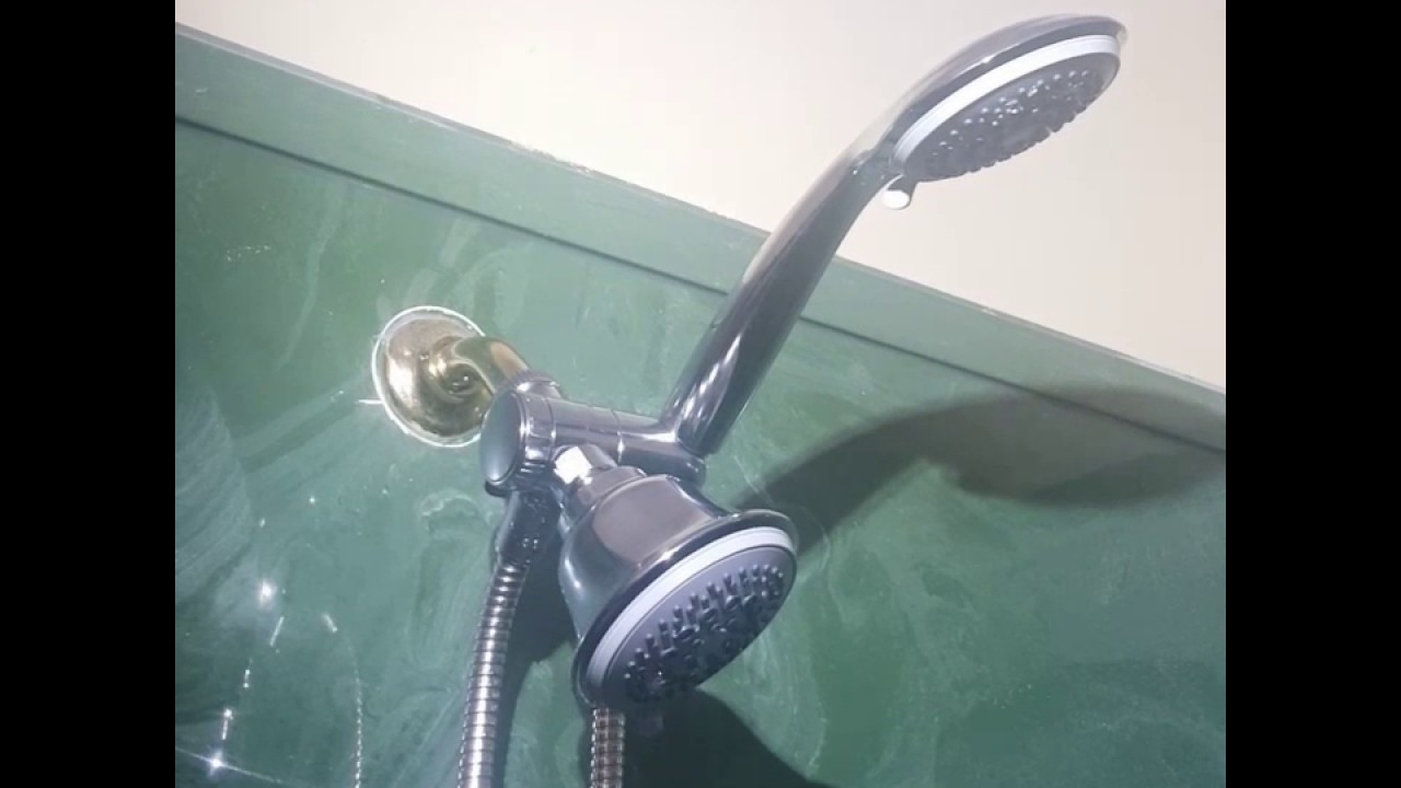 Dream Spa 36 Setting Shower Head - YouTube