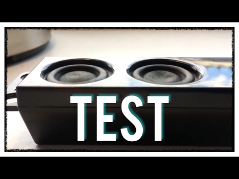 Samsung TV speaker Test!