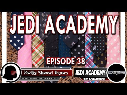 SWGOH Jedi Academy Episode 38 Live Q&A | Star Wars: Galaxy of Heroes #swgoh