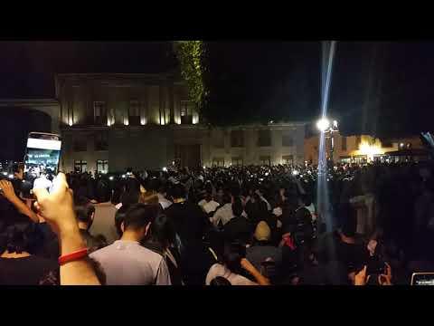 Querétaro canta opening Chala Head Chala | Jardín Guerrero Dragon Ball Super cap 130