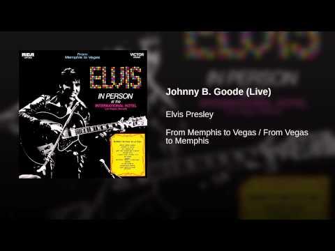 Johnny B Goode Midnight Show   at the International Hotel, Las Vegas, NV  August 1969
