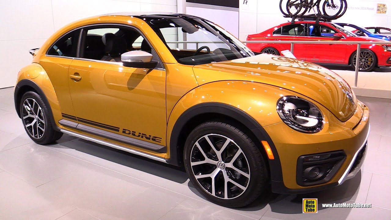 2017 Volkswagen Beetle Dune Coupe Exterior And Interior Walkaround 2016 Chicago Auto Show