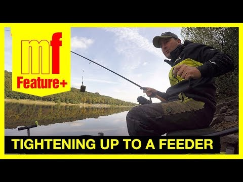 Tightening up to a feeder with braid in deep water – Jamie Harrison at Damflask Reservoir