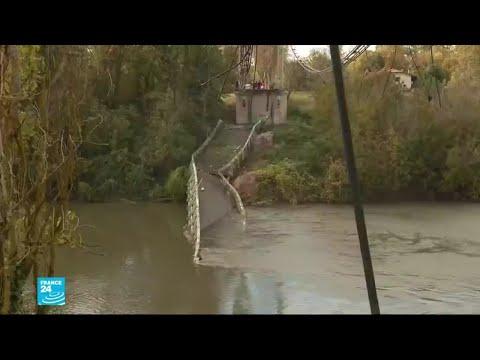 فرنسا: قتيل ومفقودون إثر انهيار جسر قرب تولوز  - نشر قبل 2 ساعة