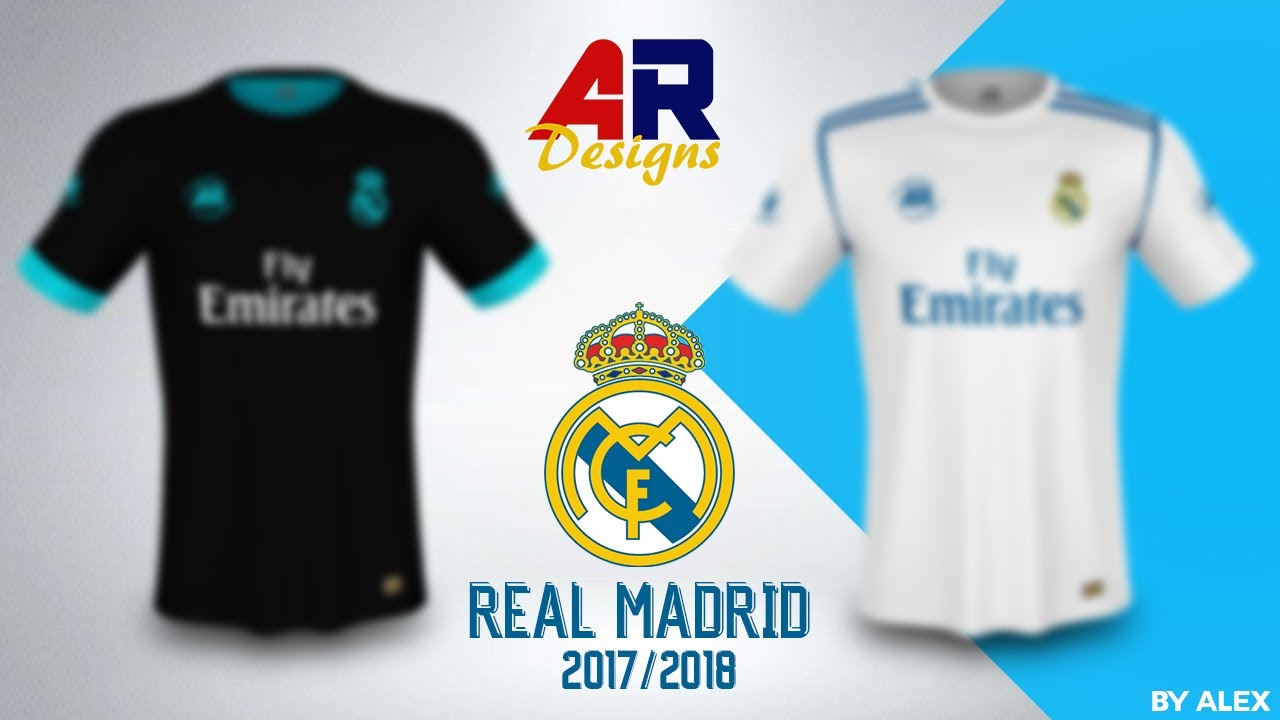 the latest 40790 dc6b6 Real Madrid Kit Design 2017/2018