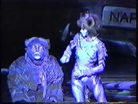 CATS - Wien / Vienna 1988 - Gus, der Theaterkater (Pia Douwes)