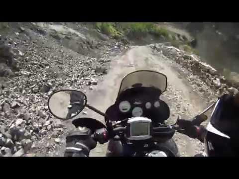 Albánie silnice SH20 / Vermosh - Koplik