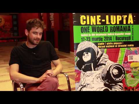 One World Romania 2014 - Interview with Dominic Dowbekin