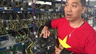 Người Việt Nam đầu tiên đặt chân và đầu tư vào mỏ bitcoin lớn nhất Thế Giới tại Chengdu - Trung Quốc