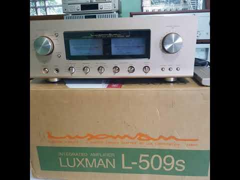 Amply Luxman L509S nguyên thùng xốp giá 52 triệu VND