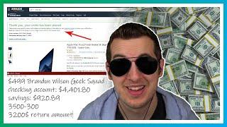 $4,000  Refund  Scam Ruined - Spending The Money
