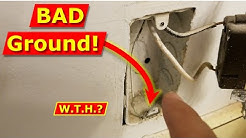 How Not To Ground an Electrical Outlet - Correct Way to Wire Outlets