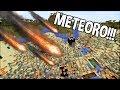 Minecraft: COLOQUE METEOROS, TERREMOTOS, ERUPÇÕES NO MINECRAFT!
