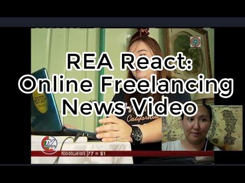 REA React:  TV Patrol News about Online Jobs