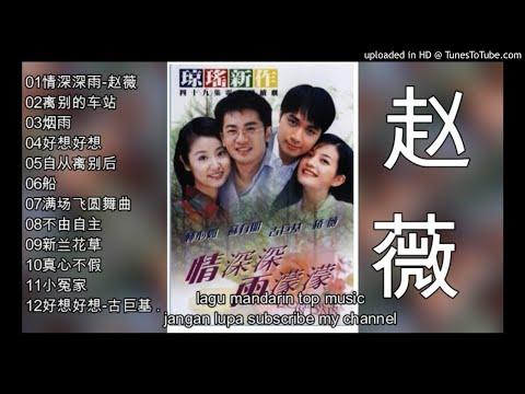 12  Lagu Mandarin Zhao Wei-赵薇 -情深深雨濛濛-Romance In The Rain-