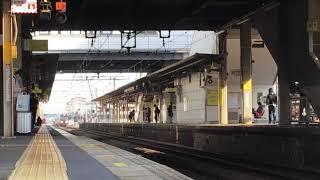 [激レア‼️鉄道ファン達へのMH‼️]JR東日本 485系『華』TG02編成(団体名古屋行き)刈谷駅 通過‼️