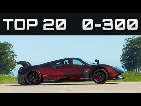 TOP 20 FASTEST 0-300 CARS | Forza Horizon 4 | Unreal Accelerations! thumbnail