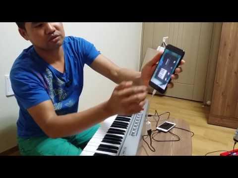 connecting USB MIDI Keyboard to iPhone 7 plus & iPhone 6