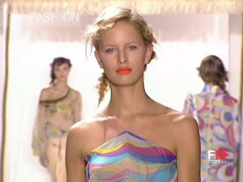 EMILIO PUCCI Full Show Spring Summer 2002 Milan by Fashion Channel