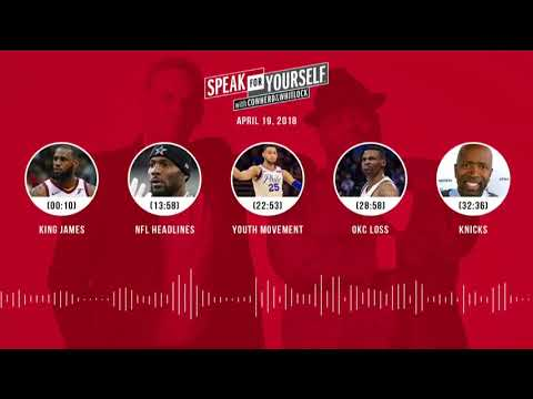 SPEAK FOR YOURSELF Audio Podcast (4.19.18) with Colin Cowherd, Jason Whitlock | SPEAK FOR YOURSELF