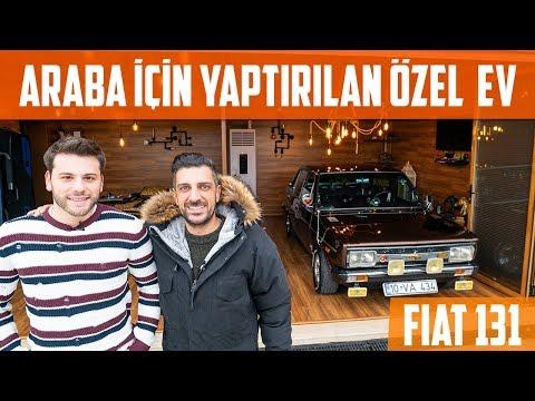Araba İçin Yaptırılan Özel Ev | Fiat 131